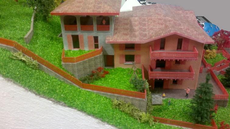 Diorama ristrutturazione asilo branico plastici - Modello preventivo ristrutturazione casa ...